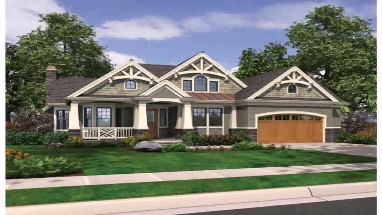 Rambler Style House Definition - YouTube