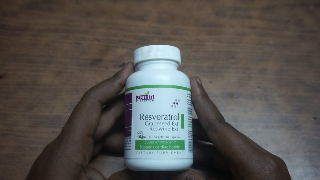 Resveratrol Grapeseed Ext Red Wine Extract Review Hindi Youtube