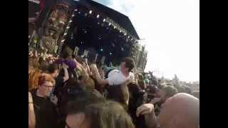 Bring Me The Horizon- Sleepwalking LIVE @Download 2014 GoPro Shot