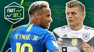 Fakt ist..! Neymar die Comicfigur, Kroos Rekord-Tor, Lukaku die Legende! WM 2018 Edition
