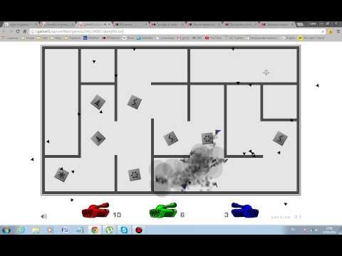 game play по игре ТАНКИ В ЛАБИРИНТЕ :DDDDDDD