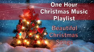 ONE HOUR Christmas Music Playlist Beautiful Christmas Songs 🎄🎁