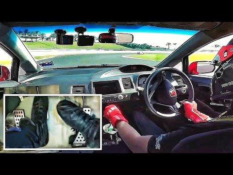 How To: Quick Upshifts + Heel & Toe Footcam | Sepang Circuit