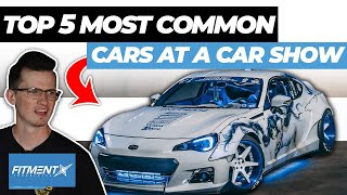5 Most Common Cars You'll See At a Car Show