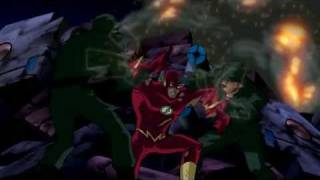 The Flash Versus Braniac/Luthor