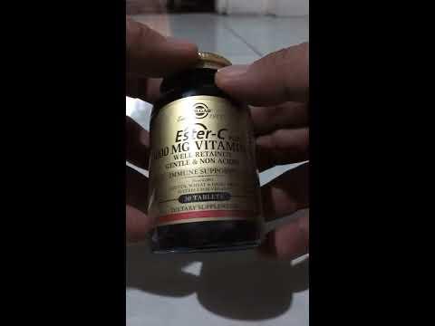 Ester-C® 1000 MG Vitamin C 30 Tablets