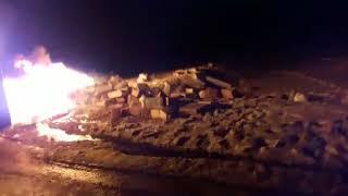 Автобус «Москва – Махачкала» сгорел в Рязанской области