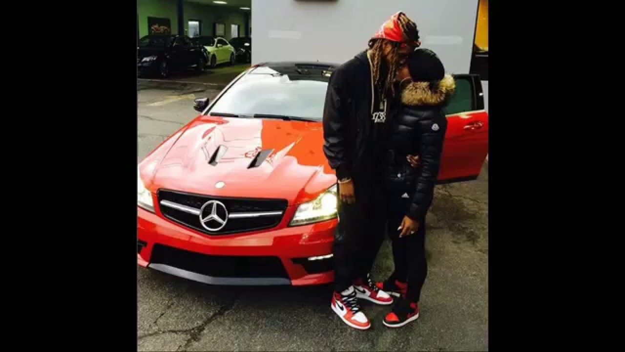 Fetty Wap buys new girlfriend a car! Red Benz Coupe! #AlexisSky is ...