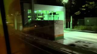 西参道口交差点~代々木公園交番前交差点:西参道通り(はとバスオープンバス)[東京23区]