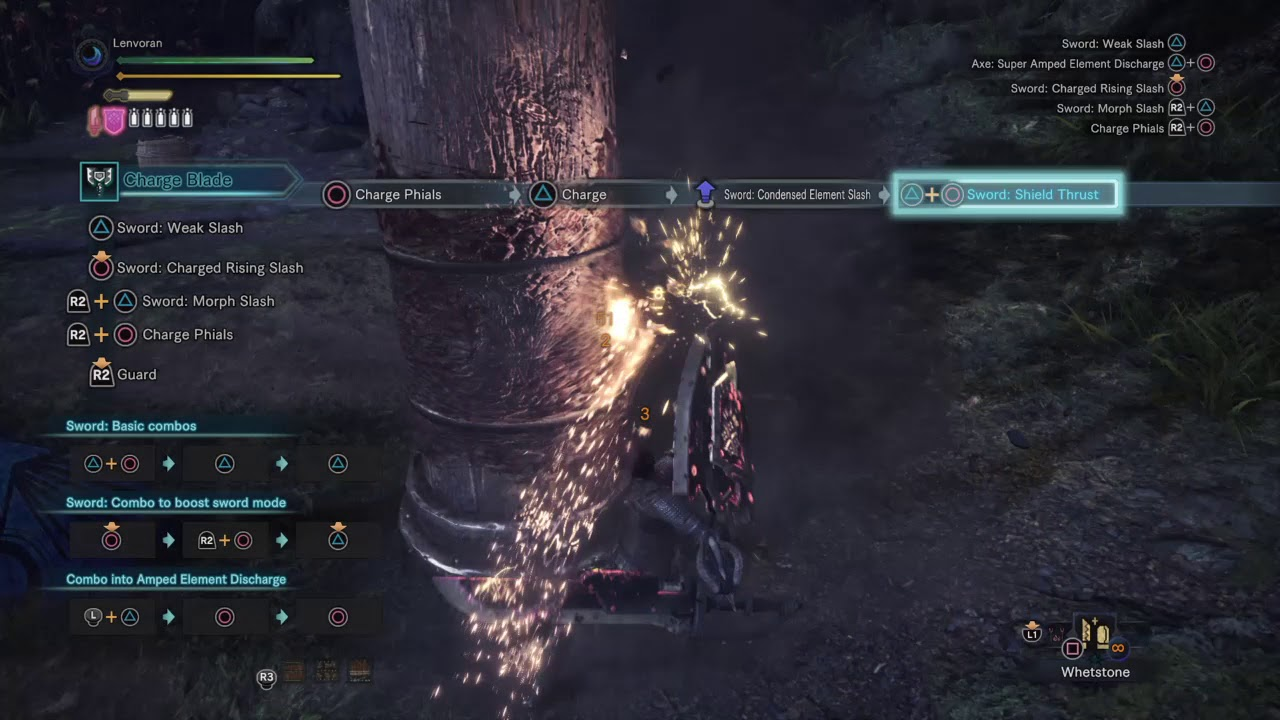 charge blade super amped elemental discharge