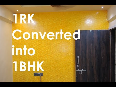 1rk Converted Into 1bhk By Civillane Com Youtube