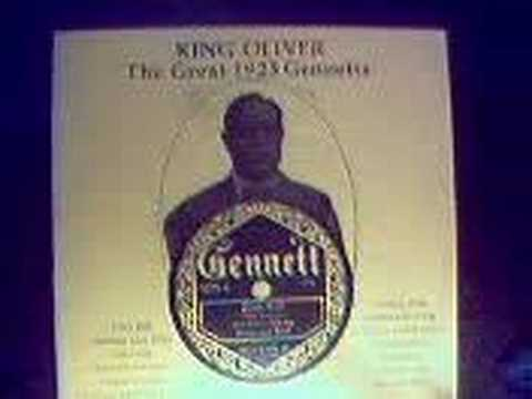 KING OLIVER 1923