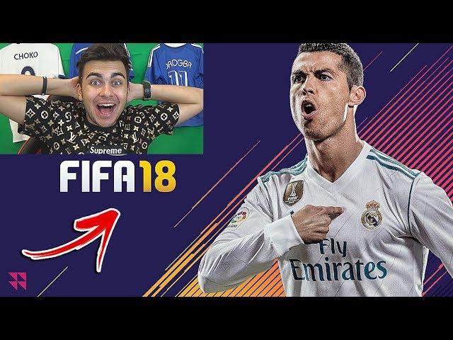 ЧАКАНЕТО СВЪРШИ ! ПЪРВО *FIFA 18* ВИДЕО - REAL MADRID VS MANCHESTER UNITED ! КРИСТИАНО РОНАЛДООО !!!
