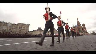 Парад Победы на Красной площади  в Москве, 9 мая, 2017, Проход  Войск и Боевой Техники
