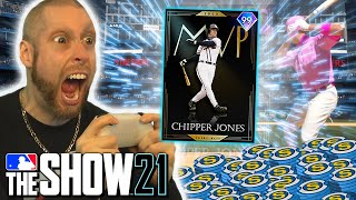 I spent EVERYTHING on this card. MLB the Show 21
