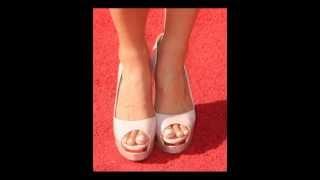 Danica Patrick Feet & Legs (Close-Up)