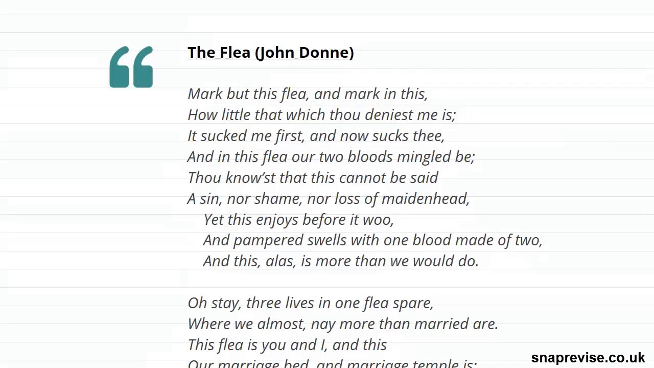 Contexts of 16th & 17th Century Poetry (Part 2) | A-level English  Literature | AQA, OCR, Edexcel