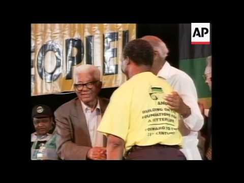 SOUTH AFRICA: PRESIDENT MANDELA MAKES FINAL SPEECH AS ANC LEADER