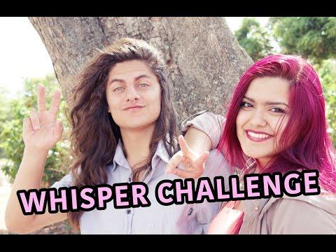 WHISPER CHALLENGE Feat Jean Carlo Hernandez