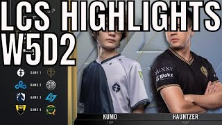 LCS Highlights ALL GAMES Week 5 Day 2 Summer 2020 League Championship Series