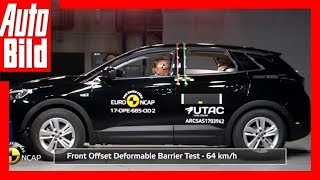 Opel Grandland X Crashtest (2017)