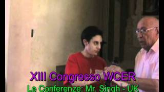 World Congress of Ethnic Religions: speech by Rajinder Singh, UK -  Bononia 2010 Thumbnail