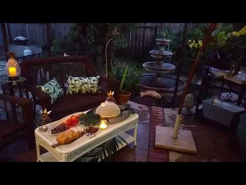Outdoor Entertaining and Living Collaboration - Outdoor Decor on a Budget