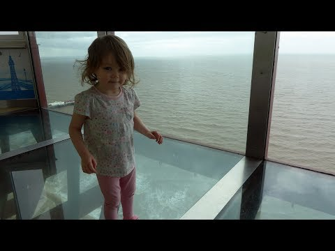 Blackpool Tower Eye - Glass Floor Walk and Lift - GREAT VIEW
