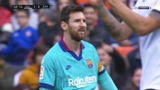 Valencia 2-0 Barcelona | LaLiga 19/20 Extended Match Highlights