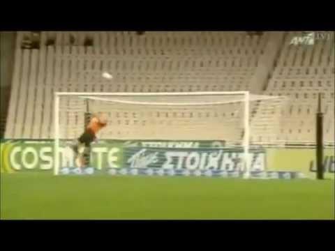 Bruno Fornaroli-First Goal in Panathinaikos-