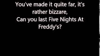 Welcome To Freddy's - Lyrics