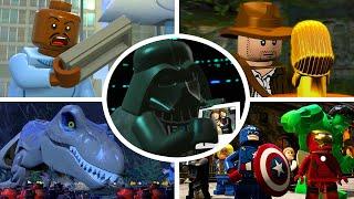 20 Iconic Movie Scenes in LEGO Videogames