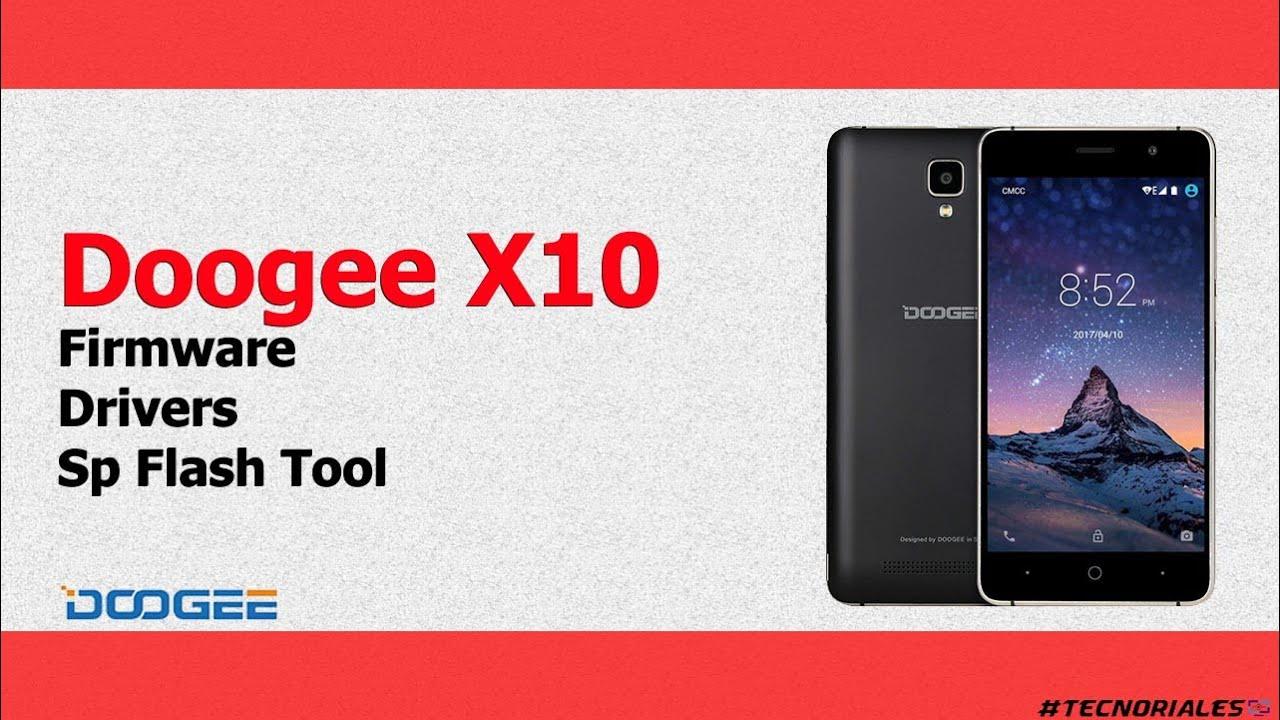 Doogee X10: Firmware + Drivers