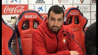 Diego Martínez. Previa Osasuna-Nàstic