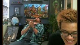 Ben Brode Best Laughs of TGT live stream card reveal Ft. Frodan