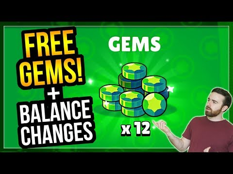 FREE GEMS, Balance Changes, Frank Voice Acting & More! Update Time! Brawl Stars