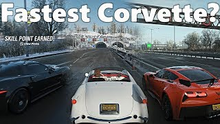 Forza Horizon 4: What Is The FASTEST Corvette? The Answer May Surprise You!!