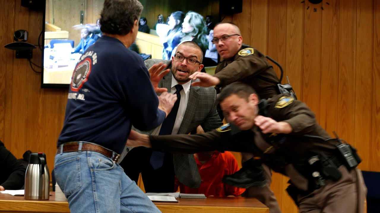 Larry Nassar Victims Father Attempts Attack In Court