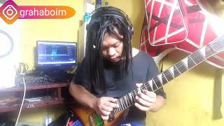 MELODY GITAR LAGU Bullet For My Valentine - The Poison SOLO COVER (COVER BY GRAHA BOIM)