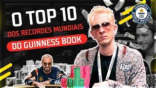 TOP 10 Recordes Mundiais do Guinness #poker #poquer
