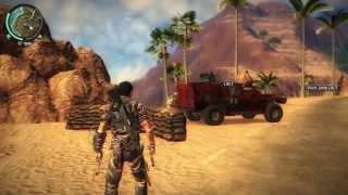 JUST CAUSE 2 [HD 720p] - Free-roam Gameplay #3