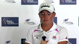 Stacy Lewis happy with new venue at Wegmans LPGA Championship