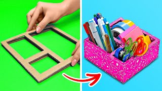 Original DIY Cardboard Ideas And Home Decor Crafts