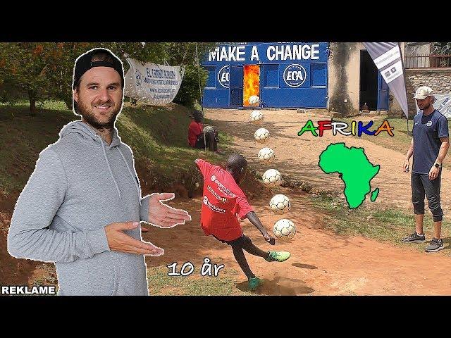 TESTER AFRIKANSK FODBOLDHOLD!