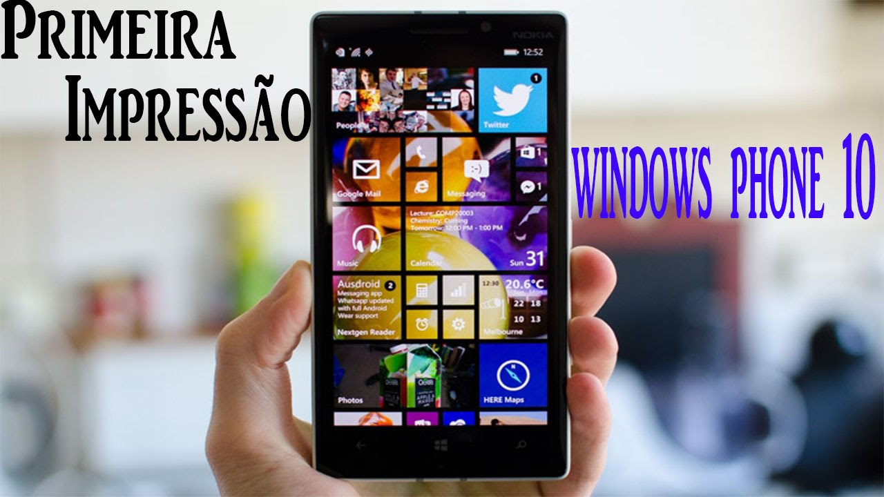 Afbeeldingen van Windows Mobile 10 Nokia Lumia 630