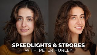 Speedlights and Strobe Lights | Back to Basics with Peter Hurley