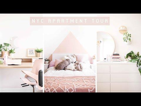 My NYC Apartment Tour 🏠 | Veggiekins thumbnail