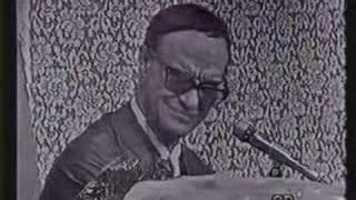 Chico Xavier - Pinga Fogo 1971 - Parte 3/10 - Suicídio e doenças congênitas