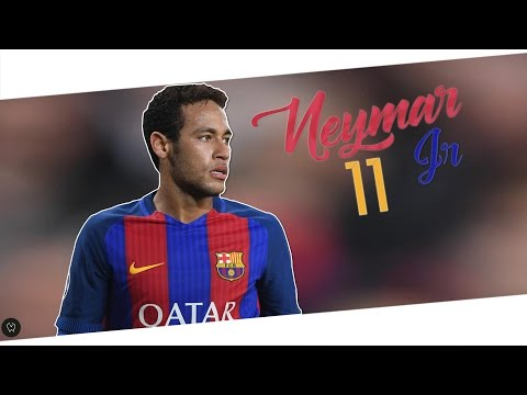 Neymar Jr. - Skills and Goals 16/17 l ♕...