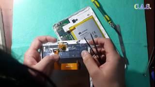 Huawey MediaPad T1 8.0 - не работает сенсор, после воды